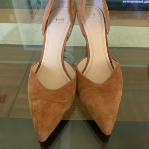 Marc Fisher brown suede pumps